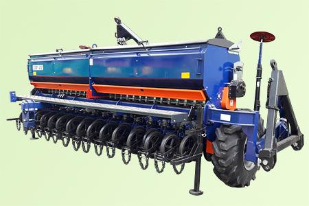 Сеялка зерновая прессовая СЗП-4.2
