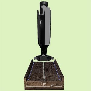 Сошник CIH700/NH2060 под гранулы