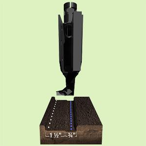 Сошник боковой CIH700/NH2060 под гранулы