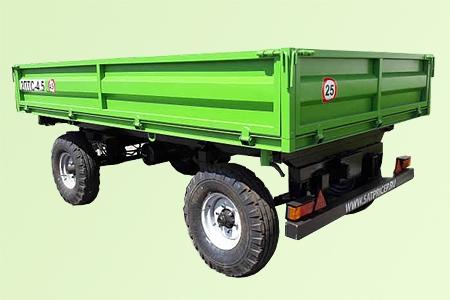 Прицеп самосвальный тракторный 2ПТС-4,5