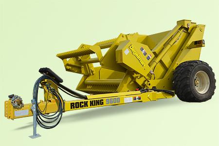 Камнеподборщик Rock King RK9600